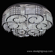 chrome metal chandelier frame decorative lighting