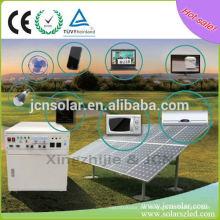 Móvil Home Appliance sistema de energía solar precio del kit Para el mercado de Yemen