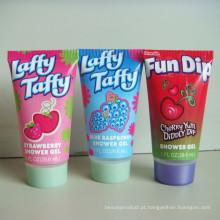 Embalagem de tubo tubo cosmético para cuidados pessoais, cosméticos flexível