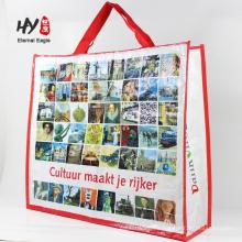 praktische pp gewebte Tasche für Geschenkverpackungen