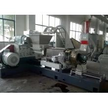 Biodegradable plastic granule compounding making machine