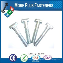 Made in Taiwan Stainless Steel Hammer Head T Strap T Slot Bolt
