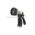 Multi-pattern metal rear trigger spray gun