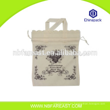Chino fotos baratas impresión no tejido bolsa de compras