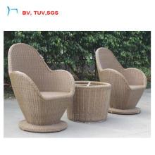 2016 cadeira de Cofffee de forma de vaso de flor e mesa (CF1467T)