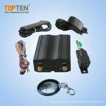 Perseguidor de GPS de la alarma del coche de Smartphone GSM y arrancador de motor remoto (TK103-KW)
