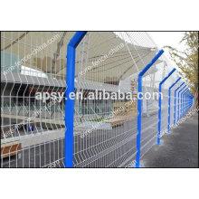Clôture en treillis métallique de type D / Clôture de protection / Garde-corps d'autoroute