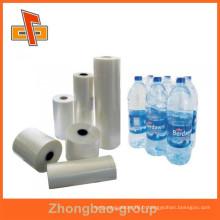 Guangzhou usine de vente de plastiques thermorétractables pvc rétractable film d'emballage