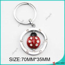 2016 Cute Ladybug Metal Key Chain (KC)