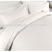 100% coton peigné satin textile à la maison 60 * 40 173 * 120 110 '' 142gsm