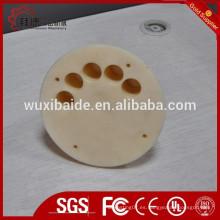OEM cnc piezas de mecanizado de piezas de plástico, cnc piezas de plástico de torno, Nylon de plástico personalizado cnc piezas de mecanizado