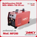 PULSE MIG - MULTIFUNCTION - SINGLE PHASE MIG/TIG/MMA - 200 Amp DC Welding Machine