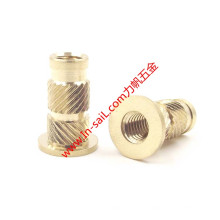 Double Outer-Knurled Threaded Insert Nut