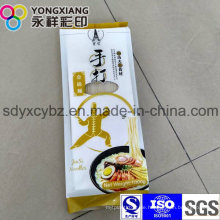 Side Gusset Food Plastic Verpackungsbeutel für Nudeln