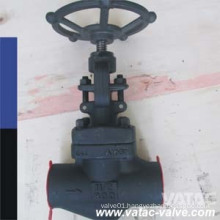 API602 Forged Steel A105 Cl800 Globe Valve with NPT/Bw/Sw