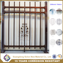 Индивидуальный цветной черный алюминиевый забор