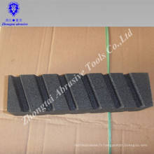 Groove résine liaison métal meulage carborundum huile pierre pour machine