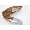 Полиэстер плоским лямки подъемный строп пояса для стальной трубы Tbs019