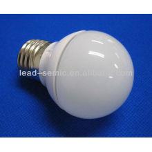 E27 gelée SMD LED boule de plastique en plastique