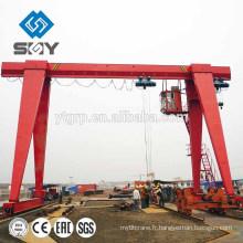 Le portique simple de poutre de treillis utilisé par modèle de MH écarte la portée de 15 tonnes