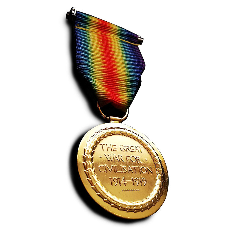 Military Medal Victory Medal