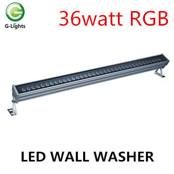 Larga vida 36watt luz de la pared de la pared LED al aire libre