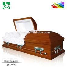 Empresa de muebles de ataúd de madera sólida de alta calidad se recomienda