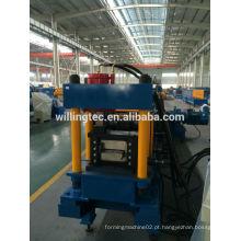 Máquina de formação de rolos frios de metal cz purlin