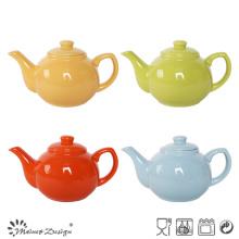 Горячий продавая цветастый чай керамики Glaze Stoneware большой