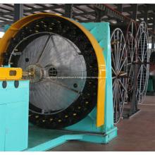Tuyau composite tressé en acier HDPE