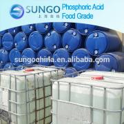 85% phosphoric acid food grade hot sale good quality