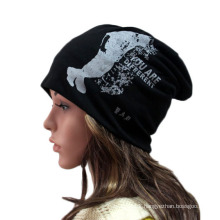 Fashion Printed Cotton Knitted Winter Warm Ski Sports Hat (YKY3134)
