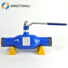 El agua del calor del gas de la alta calidad utilizó la válvula de bola flotante completamente soldada del globo