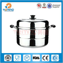 stainless steel optima steamer pot, large food steamer