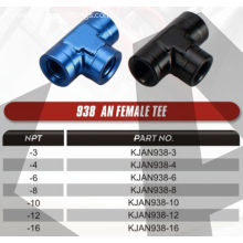 Bulkhead fittings of Female Tee ORB
