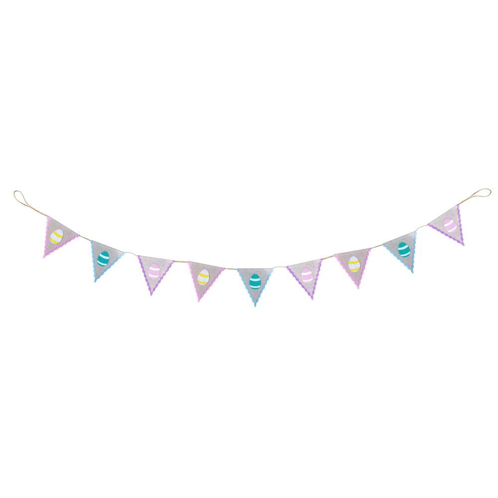 Easter Egg Bunting Garland