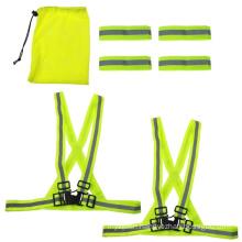 Adjustable Reflective Vest Safety Security Jacket