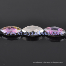 Violet en gros enduit cristal perles pour bijoux