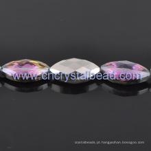 Roxo por atacado, revestimento de grânulos de cristal lapidado para jóias