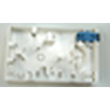 Boîte de raccordement à fibre optique à 2 ports, boîte à bornes à fibre optique intérieure type120