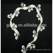 Coupe strass Coupe de vêtements en chaîne