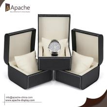 Cheapest Factory for Watch Counter Display Weave Pattern PU Leather Watch Box export to Samoa Exporter