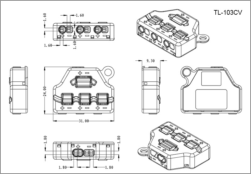 LED Connector System for Parallel and Series