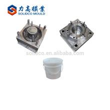 Molde de inyección del cubo del molde del cubo de la pintura de la fuente de la fábrica del precio bajo