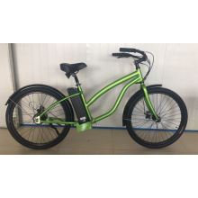 26 Inch Fat Tire Female Style Beach Cruise Electric Bike