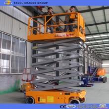 Plataforma automotriz de elevação de tesoura
