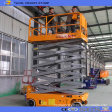Self Movable Scissor Lift Platform