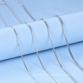 Custom 1.5mm Box Sterling Silver 925 Necklace Chain