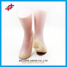 Новейшие и горячие прозрачные прозрачные носки для дамских / летних носков из нейлона