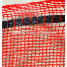2014 Hdpe Monofilament Eyelets Orange Packaging Mesh Bag (Hebei Tuosite Plastic Net)